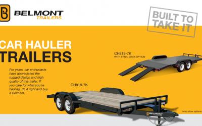 Belmont Car Hauler (CH818-7K)
