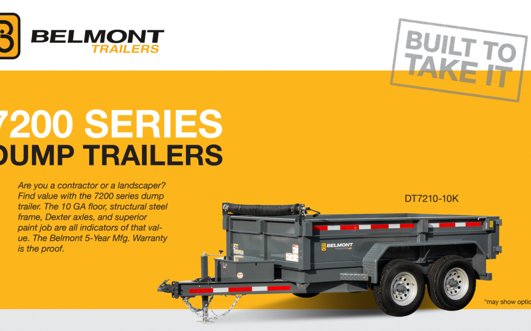 Belmont Dump Trailers (7200 Series)