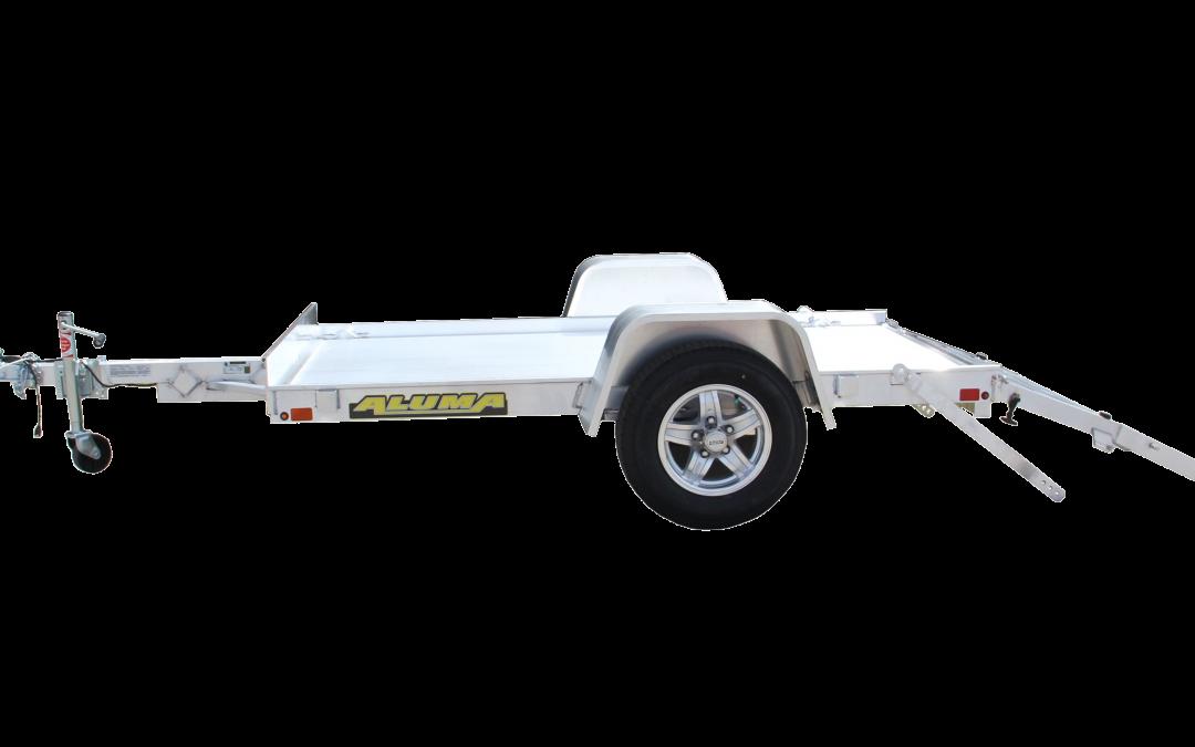 Aluma 548 Single Axle Utility Trailer