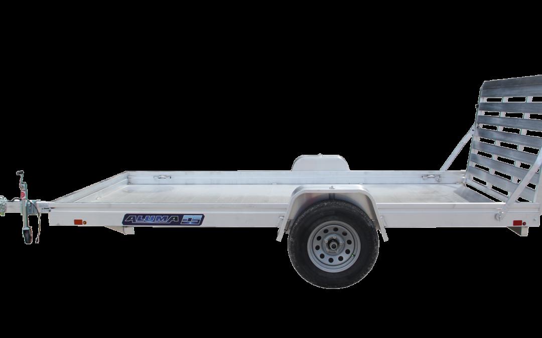 2021 Aluminum Deck Utility 7814ES-A